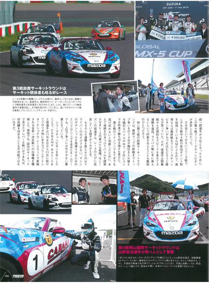GLOBAL MX-5 CUP JAPAN 2018 岡山国際サーキット CABANA Racing